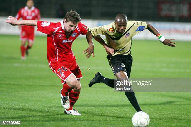 MOSTEFA / Christian KINKELA FUANDA Nimes / Ajaccio 30e journee Ligue 2