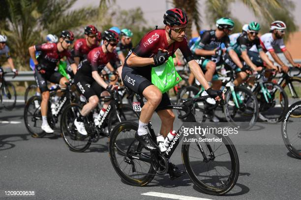 Christian Knees of Germany and Team INEOS / Feed Zone / during the 6th UAE Tour 2020 Stage 5 a 162km stage from Al Ain to Jebel Hafeet 1033m / #UCIWT...