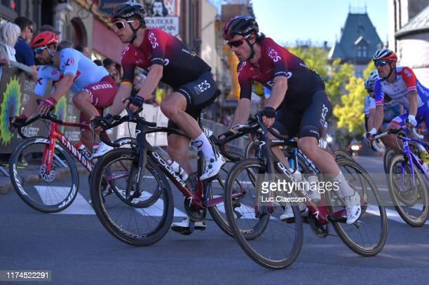 Christian Knees of Germany and Team INEOS / Leonardo Basso of Italy and Team INEOS / during the 10th Grand Prix Cycliste de Quebec 2019 a 2016km...