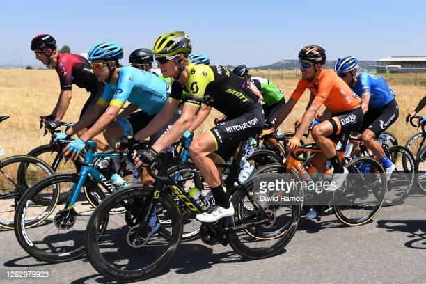 Christian Knees of Germany and Team INEOS / Rodrigo Contreras Pinzon of Colombia and Astana Pro Team / Lucas Hamilton of Australia and Team...