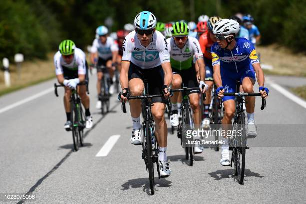 Christian Knees of Germany and Team Sky / James Knox of Great Britain and Team Quick-Step Floors / during the 33rd Deutschland Tour 2018, Stage 3 a...