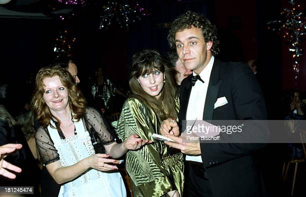 Christian Kohlund Ehefrau Elke Best Mathäser Filmball 1985 München Schauspieler Autogramme Fan