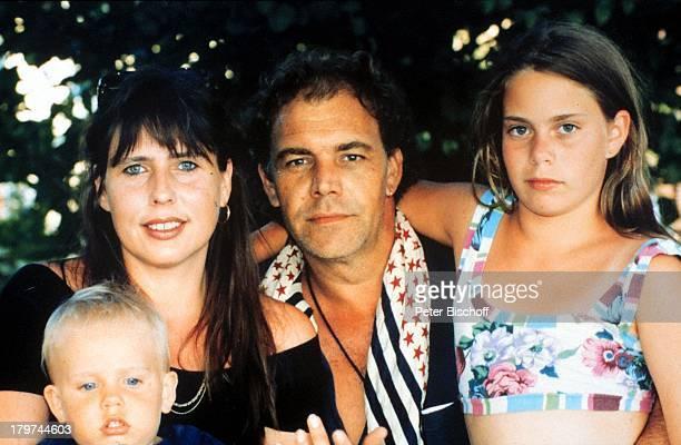 Christian Kohlund mit Ehefrau Elke Bestund Tochter Francesca Luica und Sohn LucaMaria Griechenland Urlaub Familie