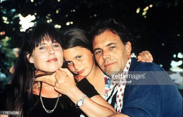 Christian Kohlund mit Ehefrau Elke Bestund Tochter Francesca Lulia GriechenlandUrlaub Familie