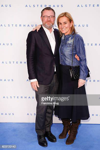 Christian Krug and Petra Fladenhofer attend the new Luxury Hall Opening of the Alsterhaus on November 16 2016 in Hamburg Germany