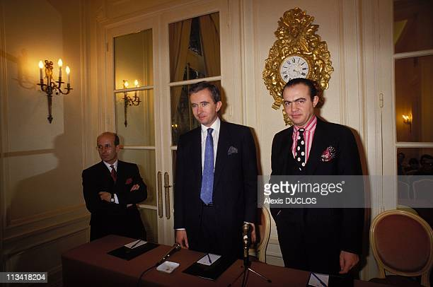 Christian Lacroix 'House Of Couture On February 3Rd 1987 In ParisFrance