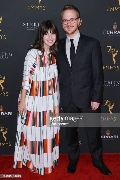 Christian Lander attend the Television Academy Honors Emmy Nominated Producers at Montage Beverly Hills on September 14 2018 in Beverly Hills...
