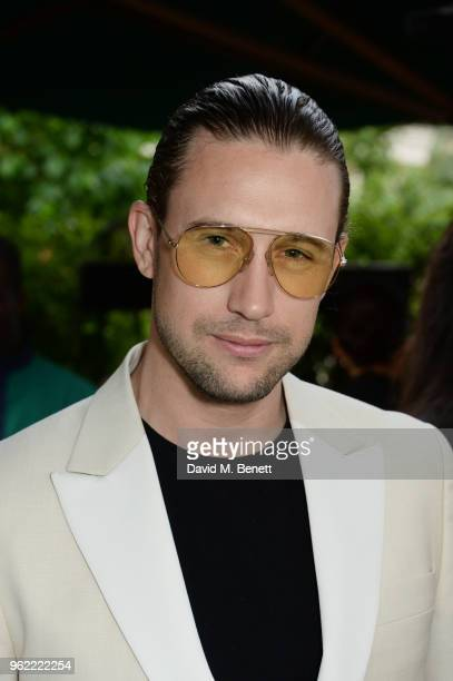 Christian Larson attends a private dinner hosted by Cartier to celebrate the opening of the British Polo Season at Casa Cruz on May 24 2018 in London...