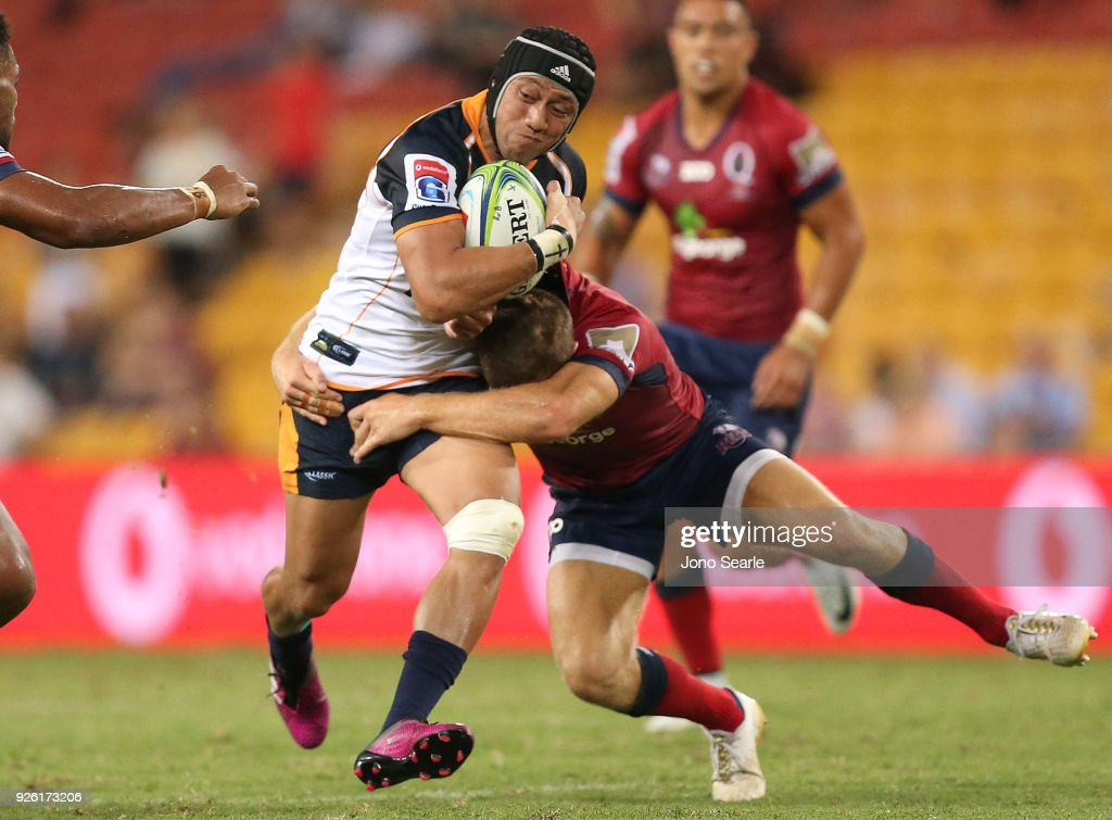 Super Rugby Rd 2 - Reds v Brumbies : News Photo