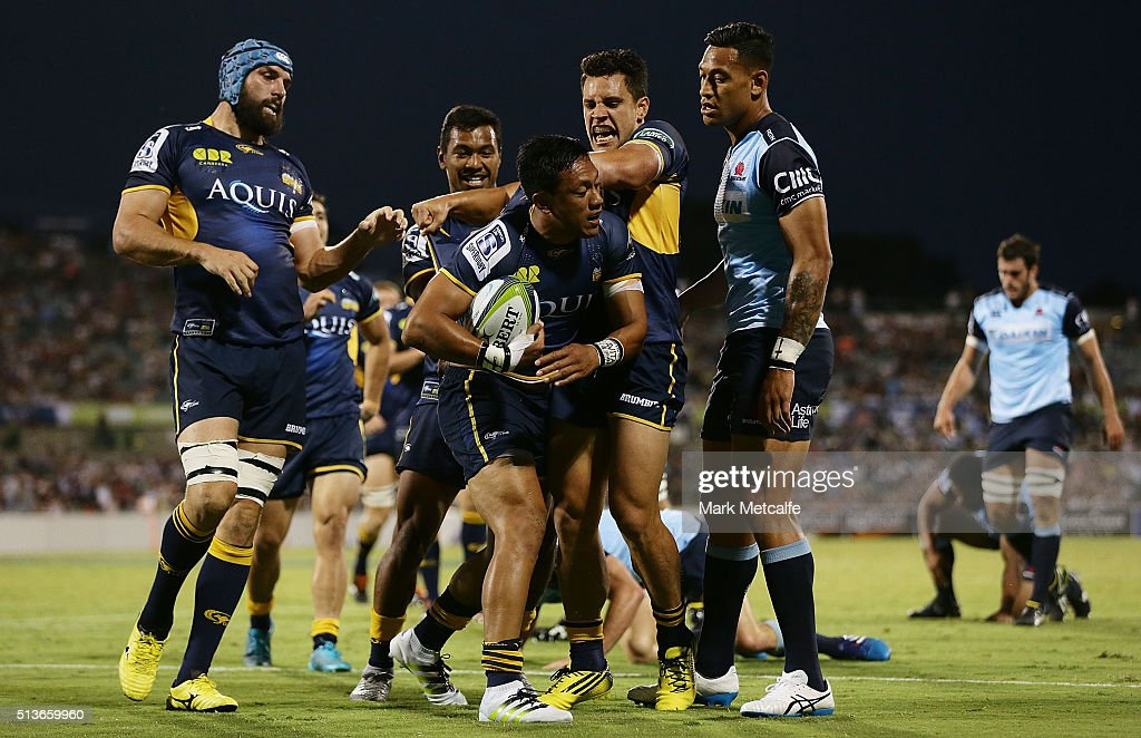 Super Rugby Rd 2 - Brumbies v Waratahs : News Photo