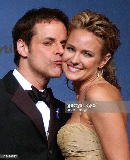 Christian LeBlanc and Sharon Case presenters during 33rd Annual Daytime Emmy Awards Press Room at Kodak Theatre in Hollywood CA United States
