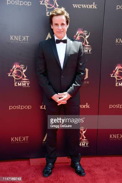 Christian LeBlanc attends the 46th annual Daytime Emmy Awards at Pasadena Civic Center on May 05 2019 in Pasadena California