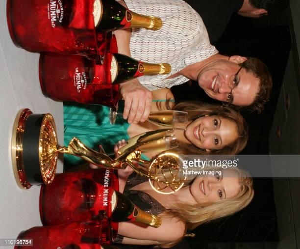 Christian LeBlanc Christel Khalil and Lauren Woodland *Exclusive*