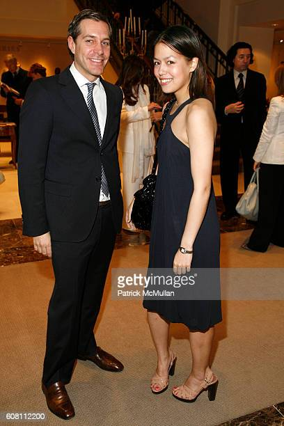 Christian Leone and Vanessa Lawrence attend GIORGIO ARMANI PRIVE Spring/Summer 2007 Collection and CHRISTIE'S Post War Contemporary Art Sale at...