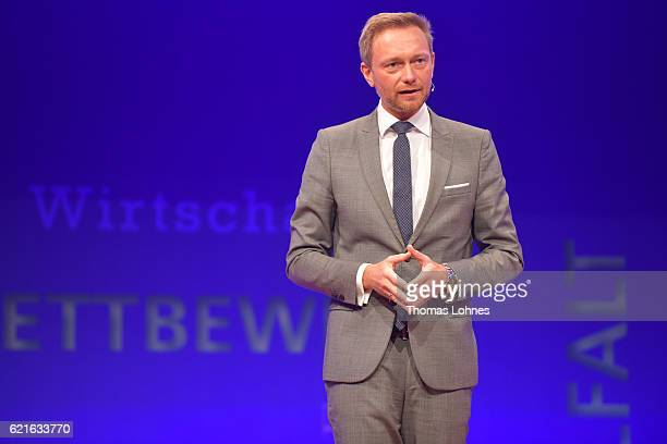 Christian Lindner attends Day 1 of the VDZ Publishers' Summit at BCC Berlin on November 7 2016 in Berlin Germany
