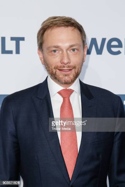 Christian Lindner attends the 'World Economic Summit ' 2018 on January 10 2018 in Berlin Germany