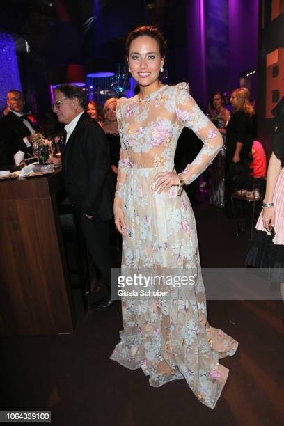 Christian Lindner FDP girlfriend Franca Lehfeldt during the Bambi Awards 2018 after party at Stage Theater on November 16 2018 in Berlin Germany