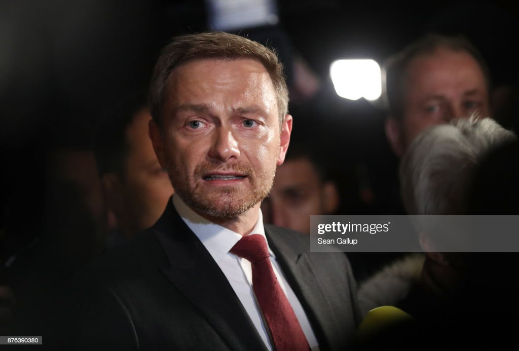 Coalition Talks Collapse As FDP Drops Out
