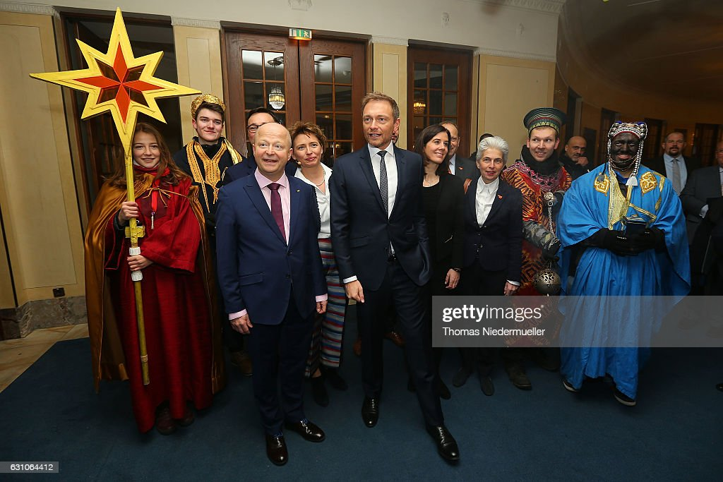 FDP Holds Annual Three Kings Gathering : News Photo