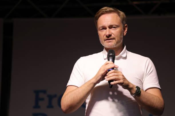 DEU: Christian Lindner, FDP, Campaigns In Bonn