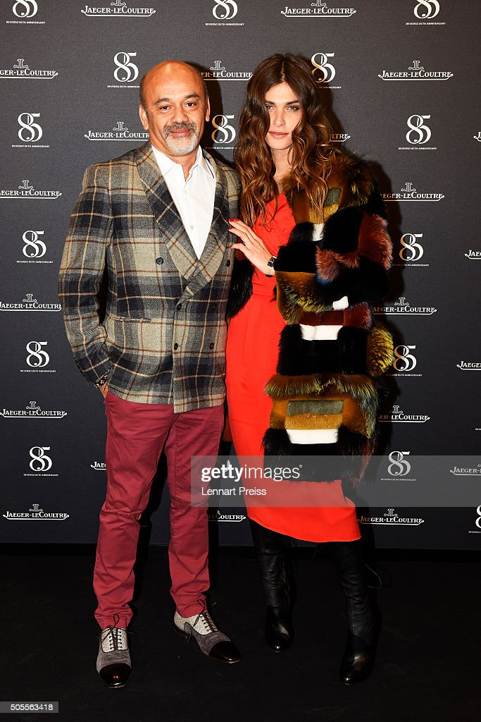 eb9a4397167 Christian Louboutin and Elisa Sednaoui attend the party in tribute ...