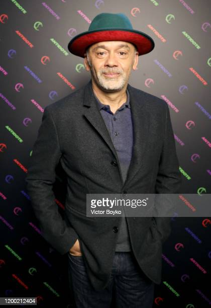 Christian Louboutin attends the Christian Louboutin x Antidote Party at Le Petit Palace on January 17, 2020 in Paris, France.