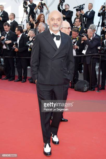 Christian Louboutin attends the Closing Ceremony of the 70th annual Cannes Film Festival at Palais des Festivals on May 28 2017 in Cannes France