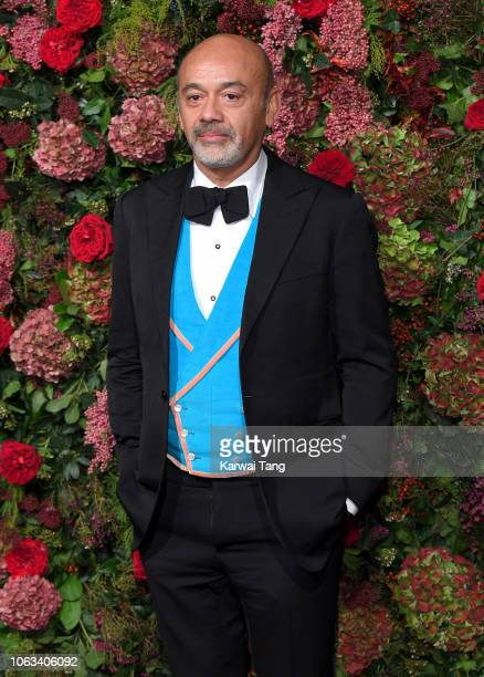 Christian Louboutin attends the Evening Standard Theatre Awards 2018 at Theatre Royal Drury Lane on November 18 2018 in London England