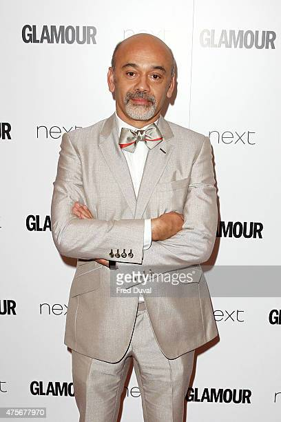 Christian Louboutin attends the Glamour Women of the Year Awards on Berkeley Square gardens on Tuesday June 2 2015 in London England