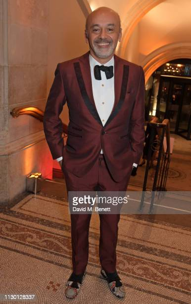 Christian Louboutin attends The Portrait Gala 2019 hosted by Dr Nicholas Cullinan and Edward Enninful to raise funds for the National Portrait...