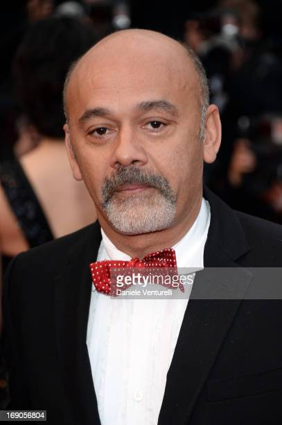 Christian Louboutin attends the Premiere of 'Inside Llewyn Davis' during the 66th Annual Cannes Film Festival at Palais des Festivals on May 19 2013...