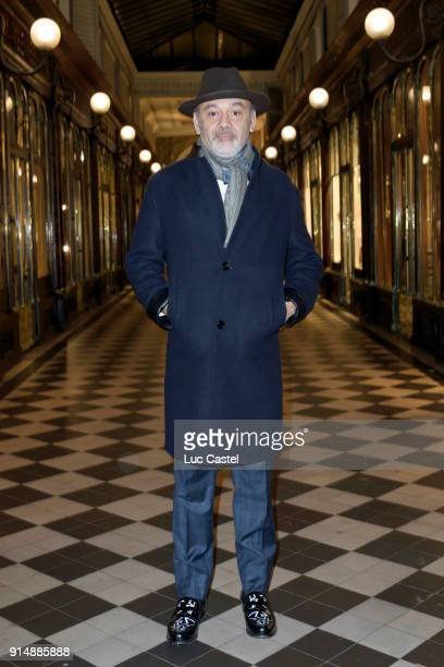 Christian Louboutin attends the presentation of the Cahier N°3 of the philosophical meetings of Monaco on January 25 2018 in Paris France
