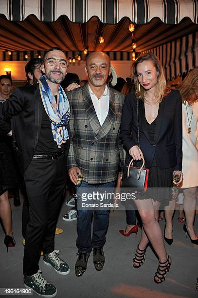 Christian Louboutin Handbags and Small Leather Goods Head Designer Yannick Flageul designer Christian Louboutin and Christian Louboutin Leather Goods...