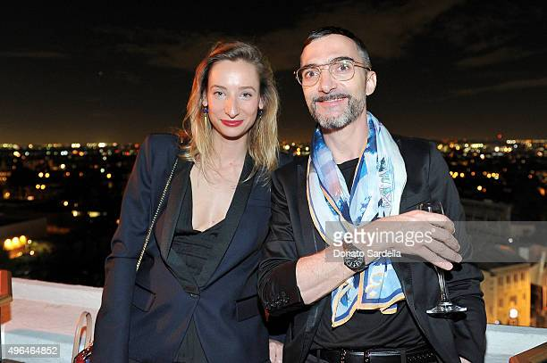 Christian Louboutin Leather Goods Manager Violette Odelin and Christian Louboutin Handbags and Small Leather Goods Head Designer Yannick Flageul...