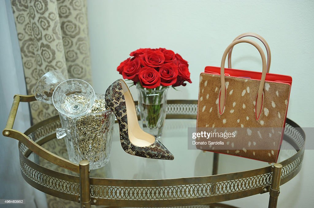 Tracy Margolies, Saks Fifth Avenue And Rosetta Getty Host Christian Louboutin : ニュース写真