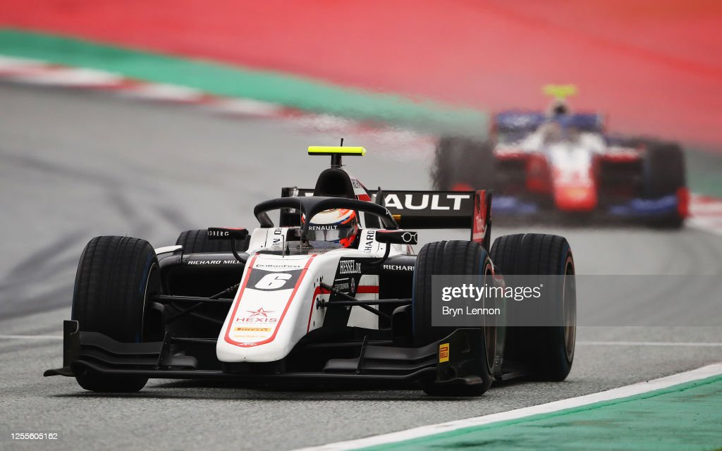 Formula 2 Championship - Round 2:Spielberg - First Race : News Photo