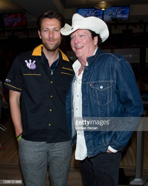 Christian Madsen and Michael Madsen at 3rd Annual Mammoth Film Festival Red Carpet Saturday on February 29 2020 in Mammoth Lakes California