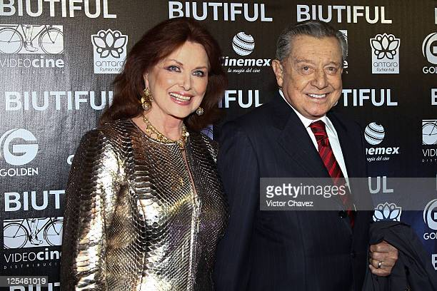 Christian Magnani and Miguel Aleman attend the Mexico City Premiere of Biutful at Cinemex Antara Polanco on October 18 2010 in Mexico City Mexico