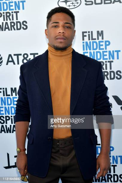 Christian Malheiros attends the 2019 Film Independent Spirit Awards on February 23 2019 in Santa Monica California