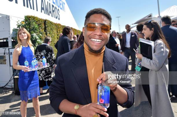 Christian Malheiros with FIJI Water during the 2019 Film Independent Spirit Awards on February 23 2019 in Santa Monica California