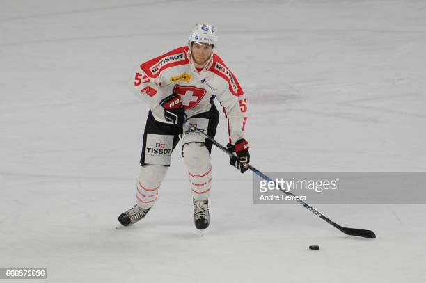 Christian Marti of Switzerland during the IIHF International friendly match between France and Switzerland on April 9 2017 in CergyPontoise France