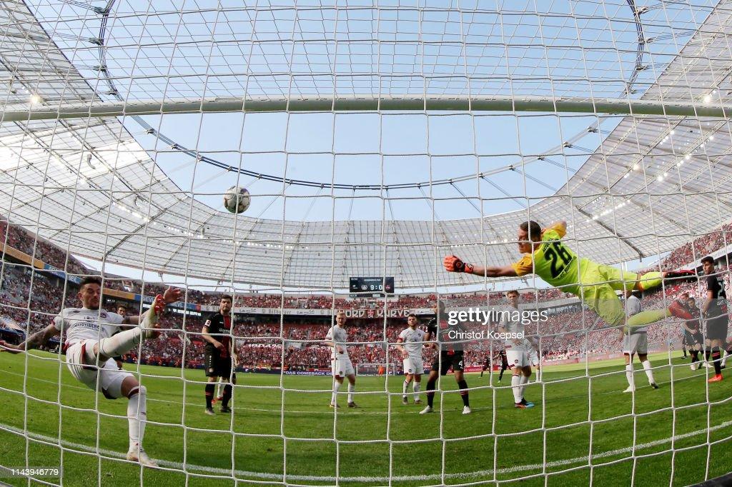 DEU: Bayer 04 Leverkusen v 1. FC Nuernberg - Bundesliga