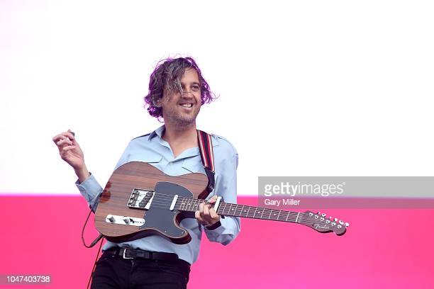 Christian Mazzalai of Phoenix performs in concert during the ACL Music Festival at Zilker Park on October 7, 2018 in Austin, Texas.