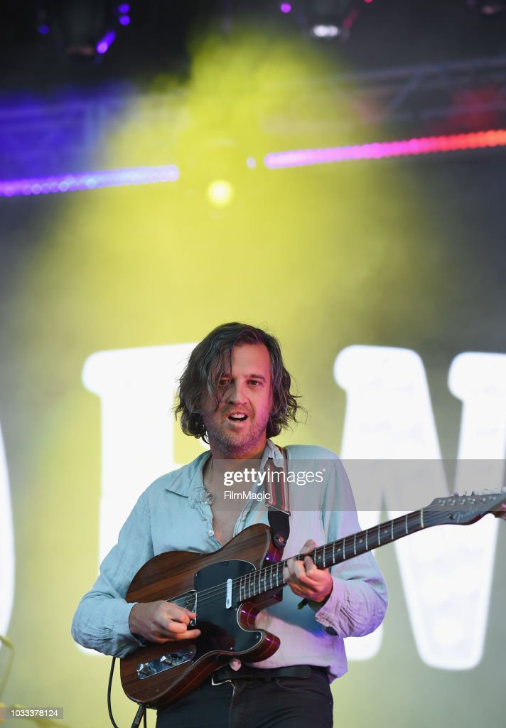 Christian Mazzalai of Phoenix performs on the Scissor Stage during day 1 of Grandoozy on September 14, 2018 in Denver, Colorado.