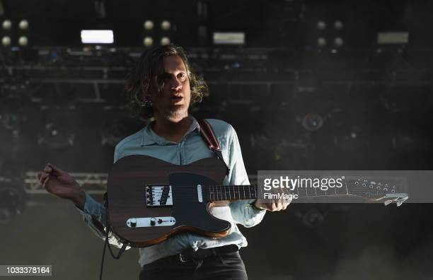 Christian Mazzalai of Phoenix performs on the Scissor Stage during day 1 of Grandoozy on September 14 2018 in Denver Colorado