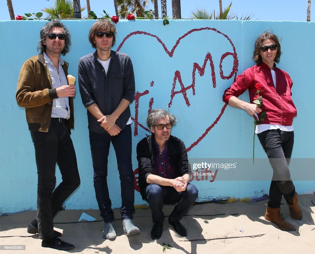 "Spotify Hosts European Beach Party To Celebrate Release Of Phoenix's ""Ti Amo"" : News Photo"