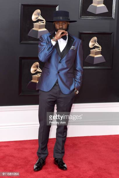 Christian McBride attends the 60th Annual GRAMMY Awards Arrivals at Madison Square Garden on January 28 2018 in New York City