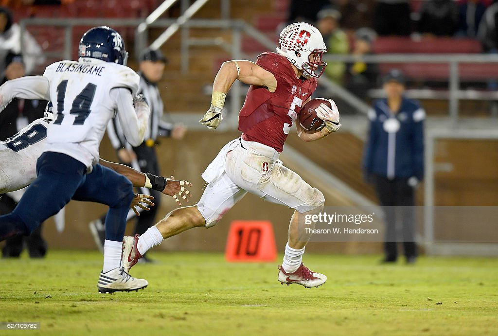 Rice v Stanford : News Photo