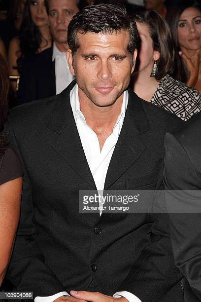 Christian Meier attends screening of Telemundo's 'Alguien Te Mira' at The Biltmore Hotel on September 7 2010 in Coral Gables Florida