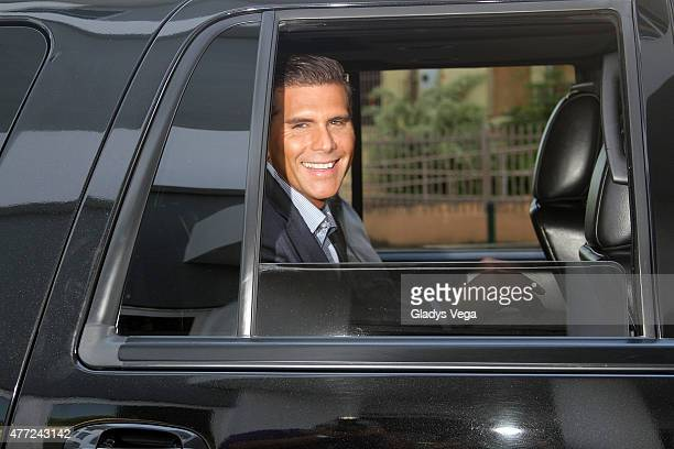 Christian Meier is sighted at Univision Puerto Rico on June 12 2015 in San Juan Puerto Rico